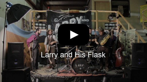 Larry and His Flask Music Video | Flick Five Films